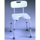 Silla de baño con asiento en U | Regulable | Blanca | Samba - Foto 1