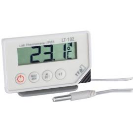 Termómetro digital | Max-min con sonda TFA | Alarma óptica y acústica