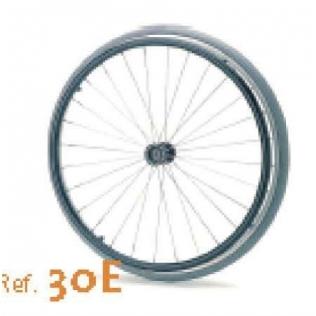 Rueda maciza standard de 24 para silla de ruedas