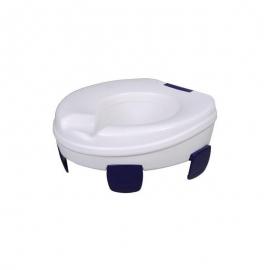 Elevador de inodoro | Resistente | Soporta hasta 185 kg | Sin tapa