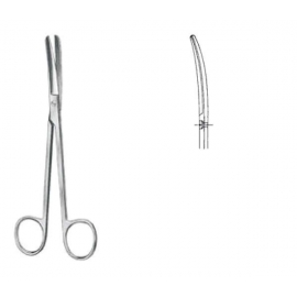 Mixter tijeras para cirugia 15,5cm curva