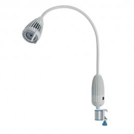 Luminaria reconocimiento Luxifllex LED con soporte de raíl plus