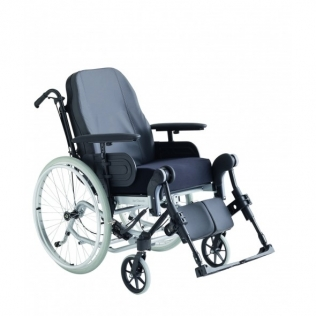 Silla de ruedas de posicionamiento   Con basculación y reclinación   Asiento 44 cm   Mod. Rea Clematis