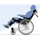 Silla de ruedas de posicionamiento   Con basculación y reclinación   Asiento 44 cm   Mod. Rea Clematis - Foto 3