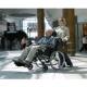 Silla de ruedas de posicionamiento   Con basculación y reclinación   Asiento 44 cm   Mod. Rea Clematis - Foto 5