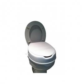 Elevador de wc | Con tapa | Altura 10 cm | Cómodo