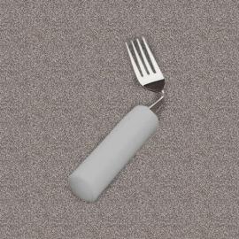 Tenedor con mango blando angulado mano derecha