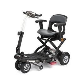 Scooter eléctrico | Compacto y plegable | Con reposabrazos y luz delantera | Brio PLUS | Apex