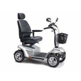 Scooter eléctrica 4 ruedas | plata | Modelo Galaxy | Apex