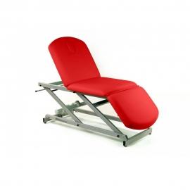Camilla eléctrica | tipo sillón | 3 secciones | portarrollos y tapón facial