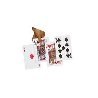 Juego de 50 cartas números grandes