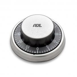 Temporizador | De cuerda | Con señal acústica | Metalizado | ADE