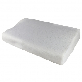 Almohada cervical viscoelástica | 60x35 cm | Diseño contorneado