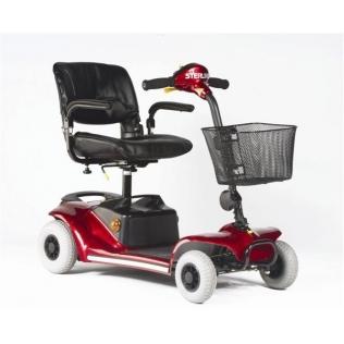 Scooter Pearl | 4 ruedas | Burdeos | Hasta 136 kg