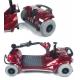 Scooter Pearl | 4 ruedas | Burdeos | Hasta 136 kg - Foto 4