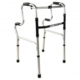 Andador para ancianos | Aluminio | Plegable | Sin ruedas | Pórtico | Mobiclinic