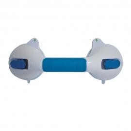Barra asidero de ventosas para baño | 29 cm | Con indicador de seguridad