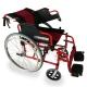 Silla de ruedas plegable | Aluminio | Freno en manetas y ruedas | Ruedas grandes |Torre | Mobiclinic - Foto 3
