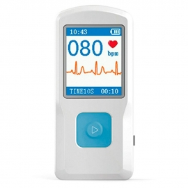 Electrocardiógrafo portátil | ECG | Pantalla a color | PM10 | Mobiclinic