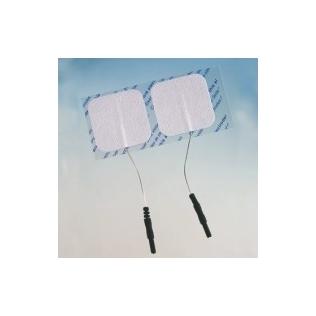 Electrodos tens pregelado con cable 50X50mm