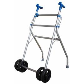 Andador caminador de aluminio con ruedas
