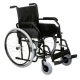 Silla de ruedas plegable |Manual |Acero| Modelo 8600 de anchura estándar 45cm - Foto 1