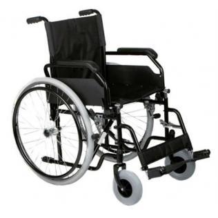Silla de ruedas plegable |Manual |Acero| Modelo 8600 de anchura estándar 45cm