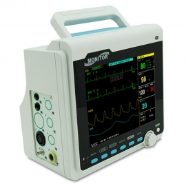 Monitor de paciente | Multiparamétrico| Pantalla TFT LCD con 8 canales | CMS6000 | Mobiclinic