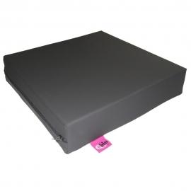 Cojín antiescaras viscoelástico | 42 x 42 x 8 cm | Color grafito | Maxiconfort