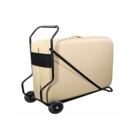 Carro transporte camilla plegable