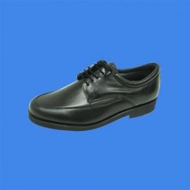 Calzado masculino elástico de color negro- Emo