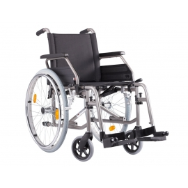 Silla de ruedas ligera | ECO 2 | Plegable|Color antracita metálico
