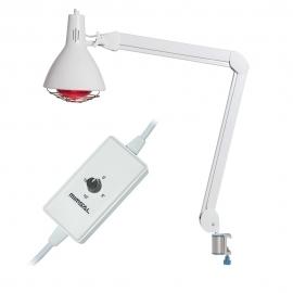 Lámpara Infra Plus de infrarrojos con temporizador y soporte raíl plus
