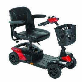 Scooter eléctrico | Colibri | Invacare | compacto y desmontable | Color Rojo