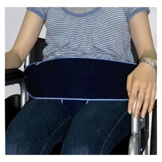 Cinturón de sujeción perineal para silla de ruedas | Cierre por presión