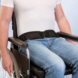 Cinturón posicionador para silla de ruedas