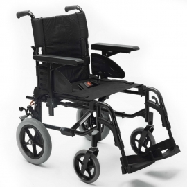 Silla de ruedas de aluminio action 2, asiento 43 cm, R.12 maciza