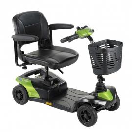 Scooter eléctrico compacto y desmontable | Batería 18 Ah | Color verde jade | Mod. Colibri | Ivancare