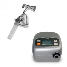Equipo de apnea del sueño   Con máscara nasal y tubo   APEX