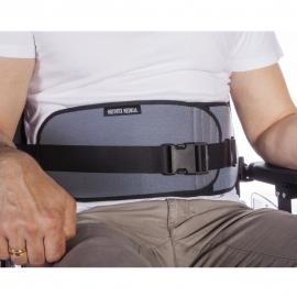 Cinturón abdominal abierto para silla de ruedas y sillas de descanso