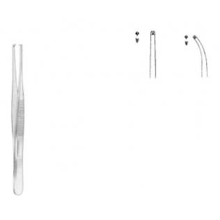 Pinza de disección Angosta con dientes