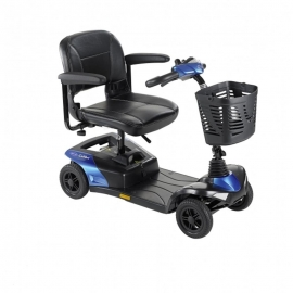 Scooter eléctrico | Mod.Colibri | Invacare | compacto y desmontable | Color Azul