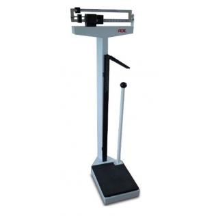 Báscula mecánica hasta 200 KG | Medición peso y altura | Con tallímetro | Mod. M318800 | Marca ADE