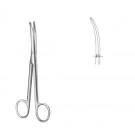 Mayo-Stile tijeras para cirugía curvas R/R