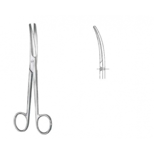 Mayo tijeras para cirugía curvas R/R