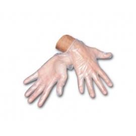 100 Guantes de vinilo | Con polvo | Varias tallas | No estéril