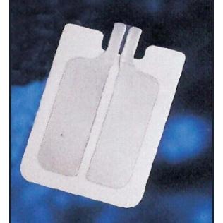 Placa electroquirúrgica pregelada 1,65mm.