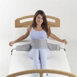 Sujeción abdominal a cama   Sistema de hebilla