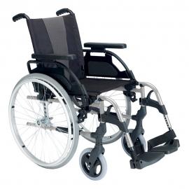 "Silla de ruedas | Breezy Style | Aluminio | Rueda 24"" | Gris selenio"