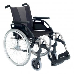 "Silla de ruedas   Breezy Style   Aluminio   Rueda 24""   Gris selenio"